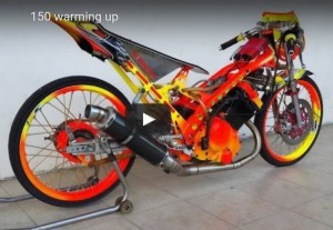 VIDEO: Suzuki Dragbike Raider 150