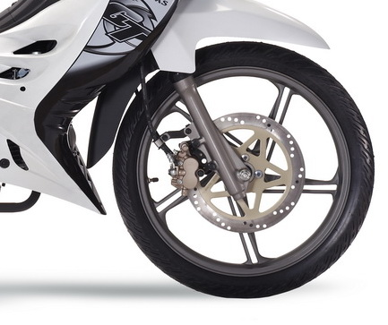Modenas-GT135_Front Disc